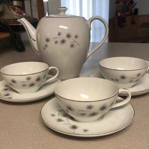 Mid Century Starburst Tea Set